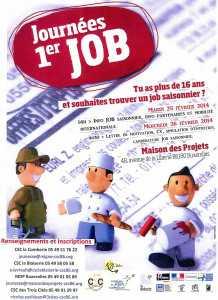affiche Premier Job